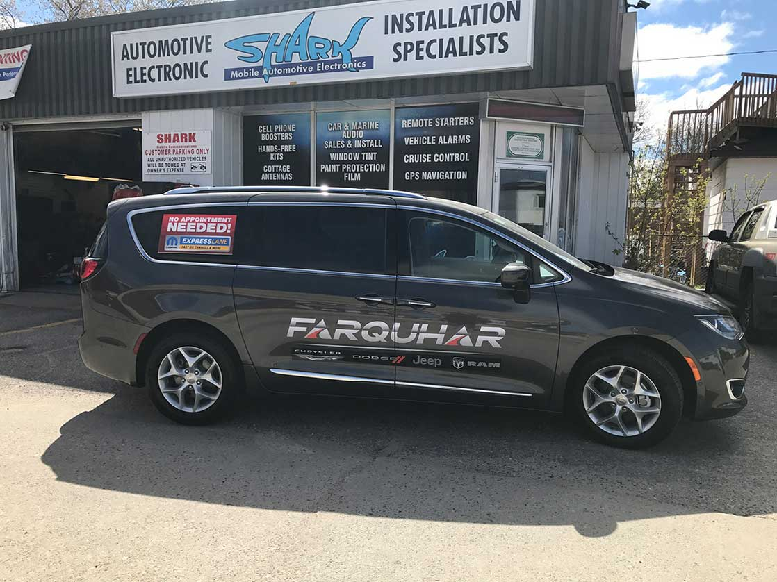 Custom Vinyl 3m Wraps at Shark in North Bay, ON