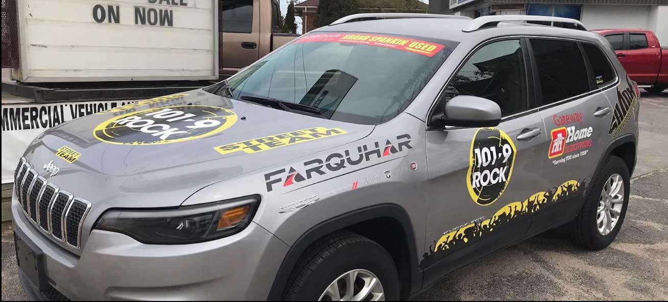 Shark Advertising Wraps in North Bay, ON