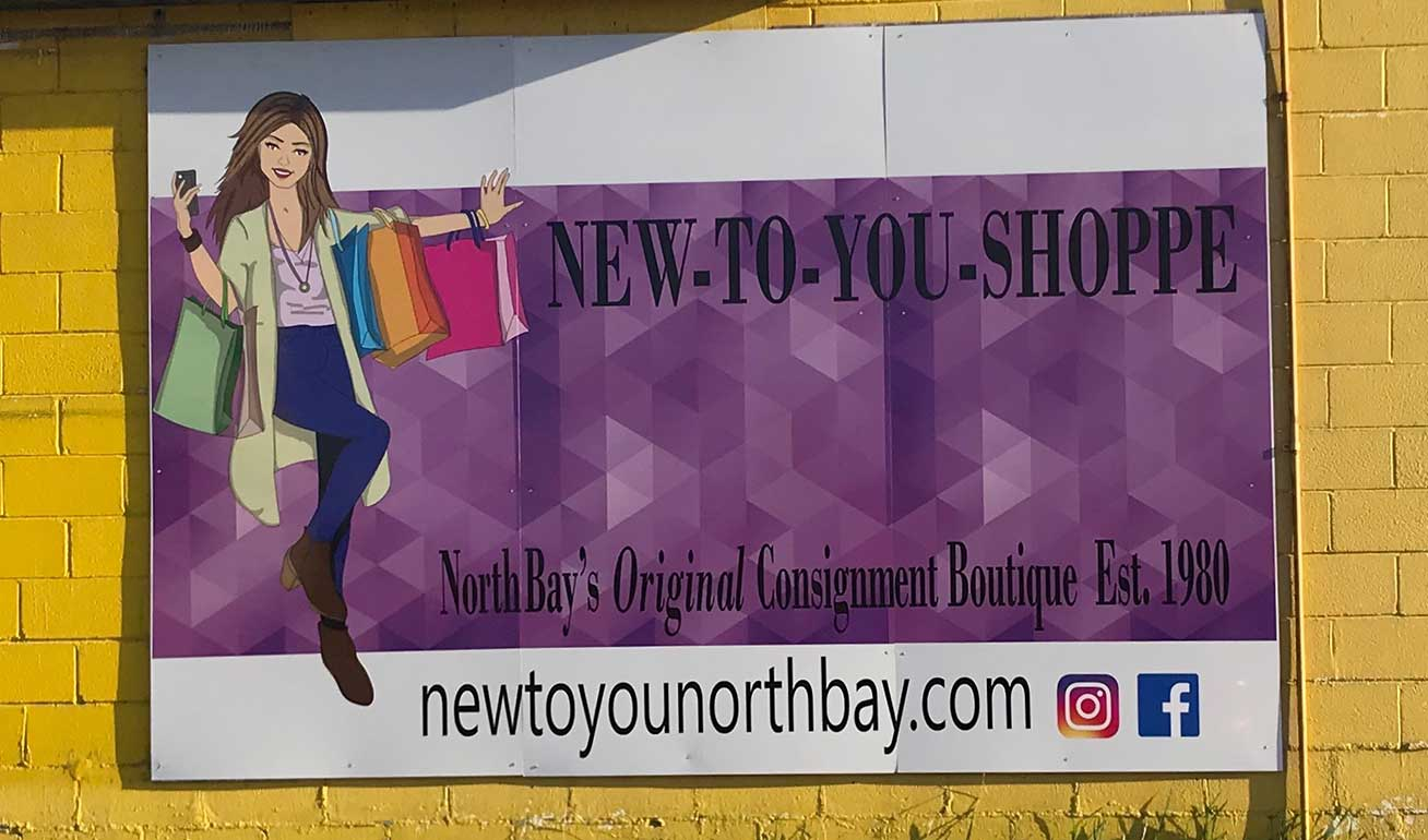 Business Signs in North Bay, ONTARIO