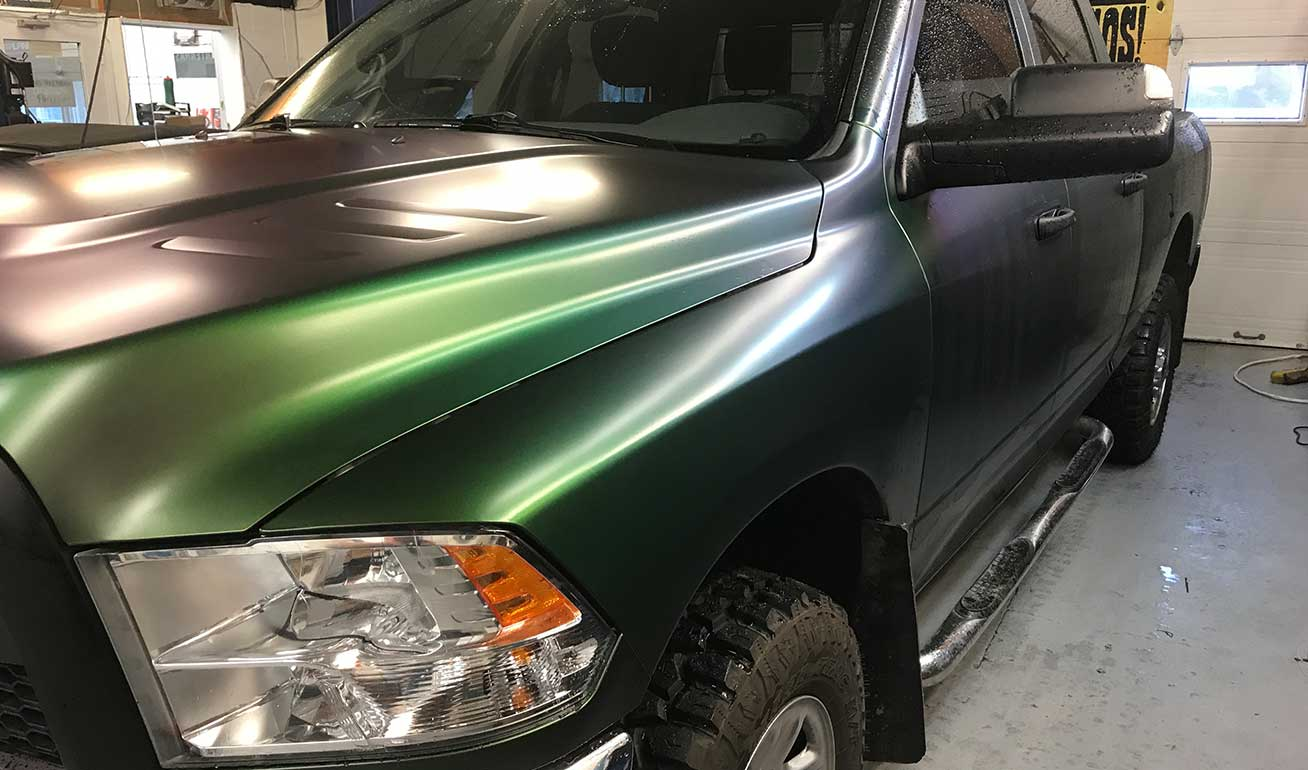 Full Truck Wrap in North Bay by Shark